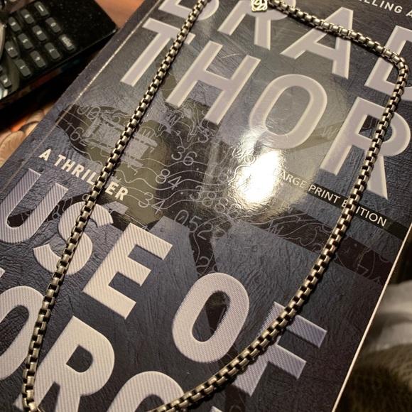 "David Yurman Jewelry - David Yurman Men's Link Chain 18"""